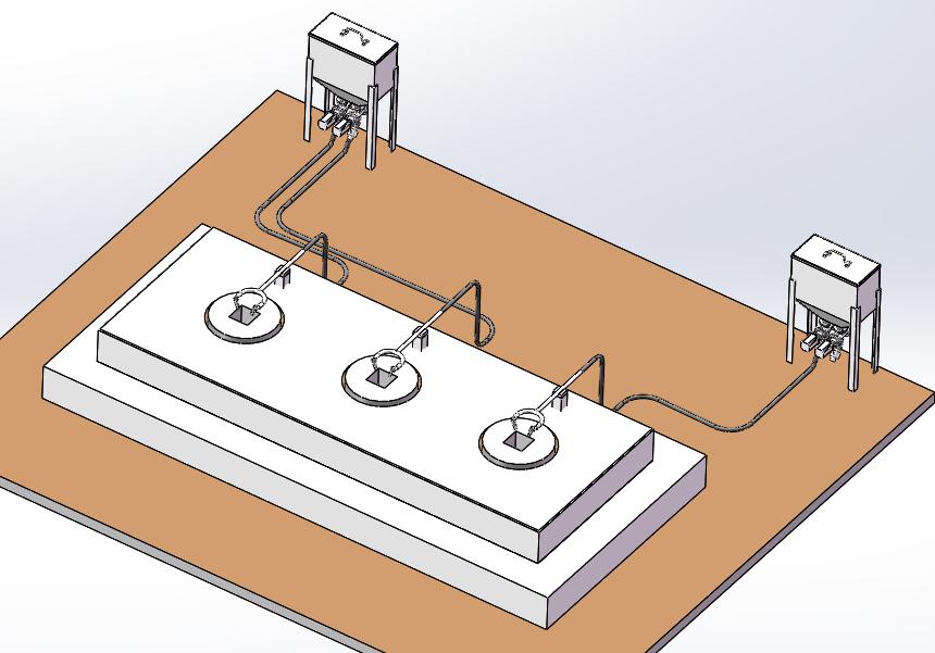 结晶器自动加渣系统